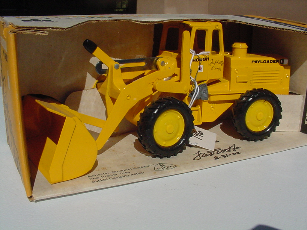 Toy Construction Equipment : Ag farm toys fred ertl toy collection