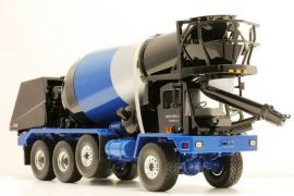 Ag Farm Toys 1/34 First Gear Oshkosh Front Discharge Cement Mixer
