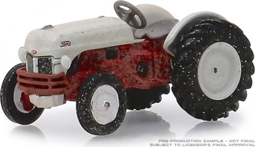 Ag Farm Toys 1/64 1948 Ford 8N Tractor - White and Red