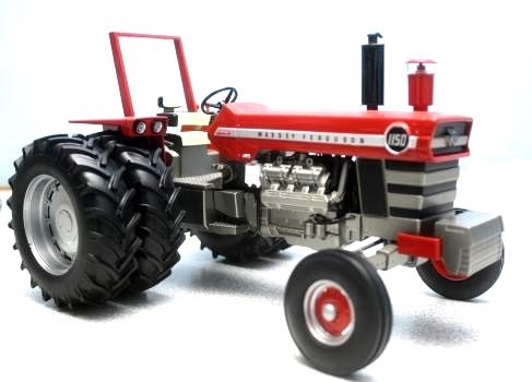Metal Toy Tractors >> Ag Farm Toys 1 16 Massey Ferguson 1150 Tractor W Rear Duals